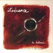 """Couverture CD """"Itinérance"""""""