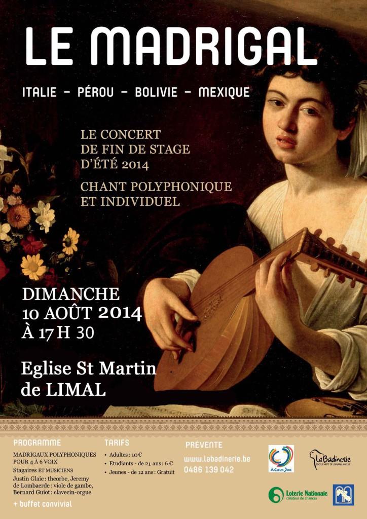 Affiche LB concert fin stage 2014 2