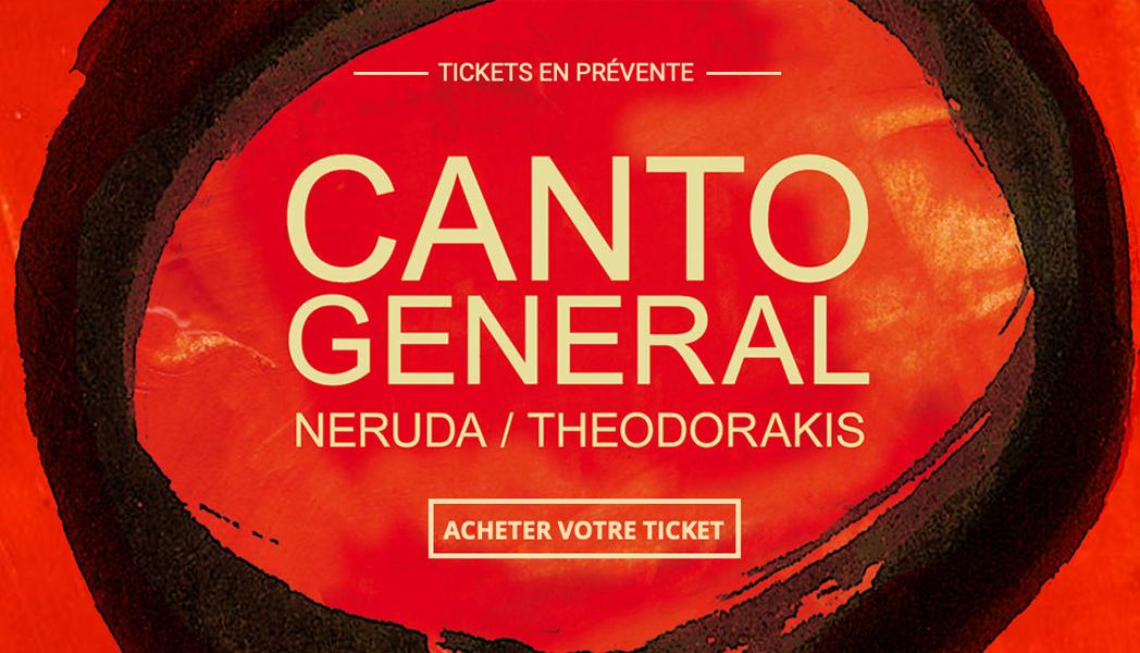 Concert Canto Général 2019